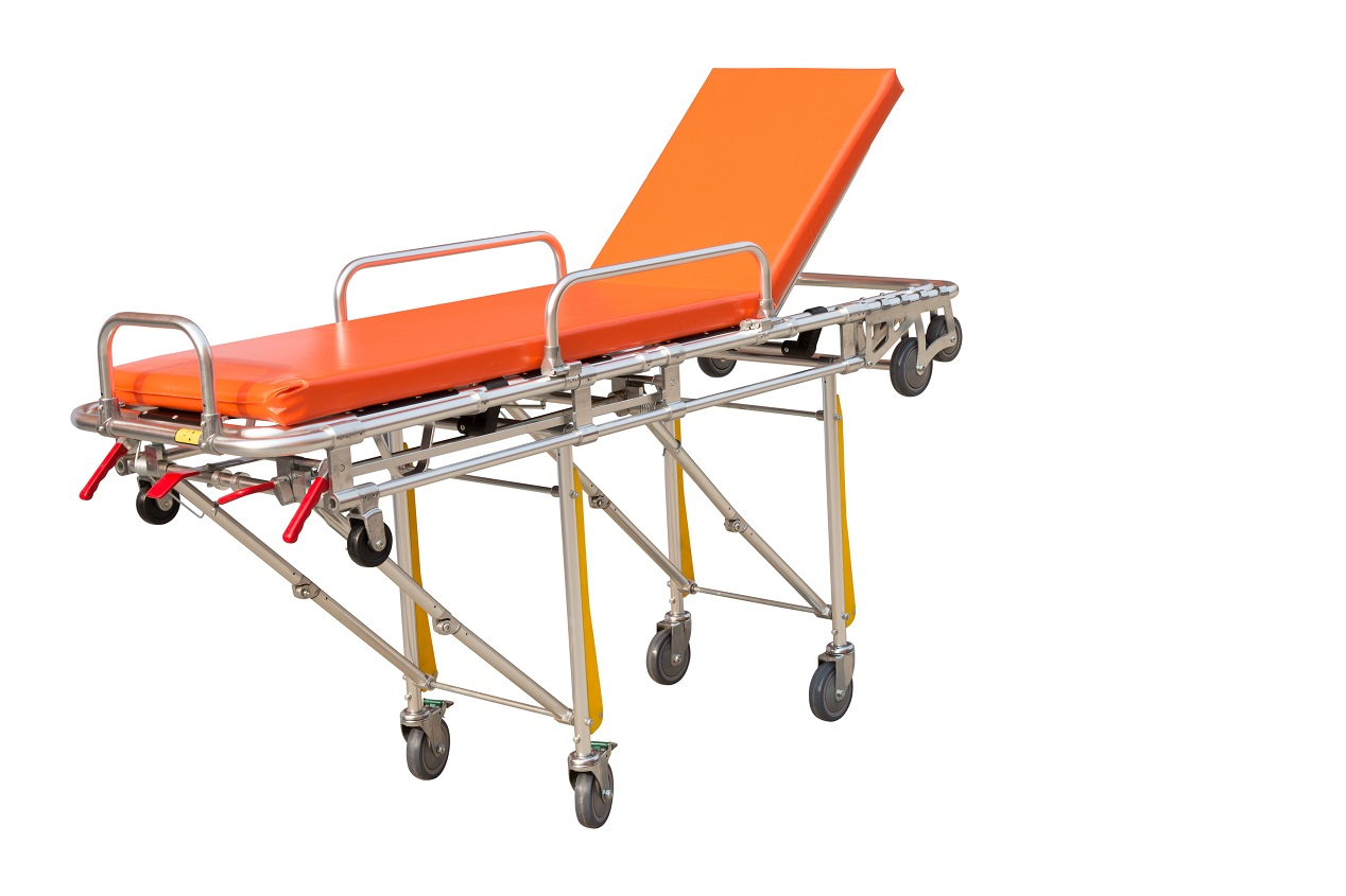 HS-D010 Strong wheel cheap price ambulance stretcher