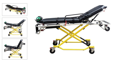 HS-D017 Easy operated ambulance stretcher factory