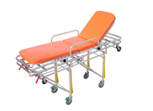 HS-D009 First aid foldable ambulance stretcher